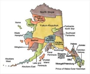 Alaska and Counties